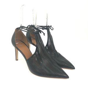Sarto Size 11 Krista Cutout Ankle Wrap Pump